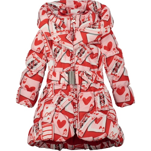 PRE ORDER AW20/21 Girls A*Dee Queen of Hearts Emma Jacket W201200