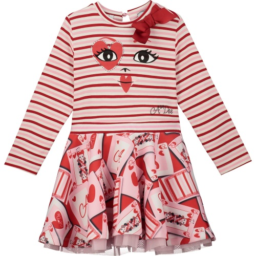 PRE ORDER AW20/21 Girls A*Dee Queen of Hearts Estella Dress W201700