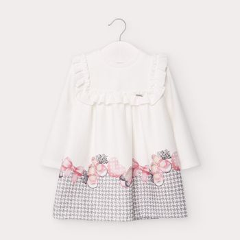 Girls Mayoral Dress 2946 Pink 58