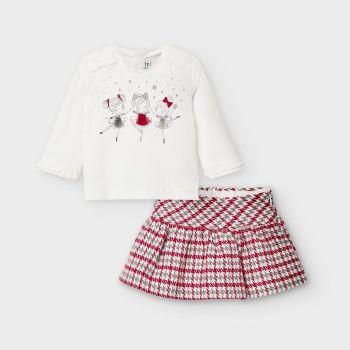 Girls Mayoral Skirt Set 2972
