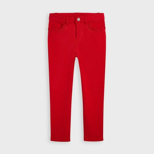 Girls Mayoral Trousers 511 - Red 85