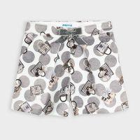 Girls Mayoral Shorts 4204 Silver 75