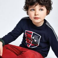 Boys Mayoral Sweater 4330 - Navy 65