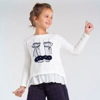 Girls Mayoral Top 7074 Navy