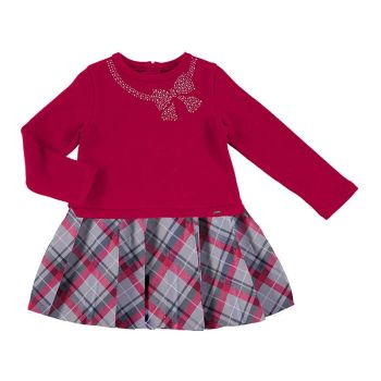 Girls Mayoral Dress 4961 - Red 65