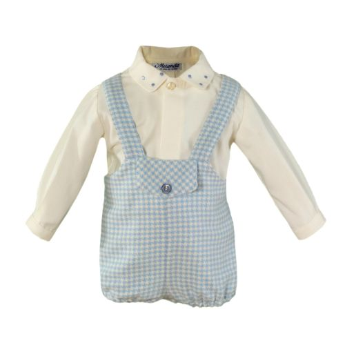 PRE ORDER AW20/21 Boys Miranda Blue and White Set 40