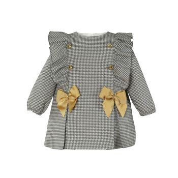 Girls Miranda Grey Dress 155