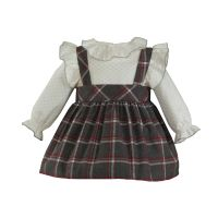Girls Miranda Grey Dress 510