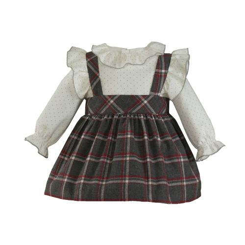 PRE ORDER AW20/21 Girls Miranda Grey Dress 510
