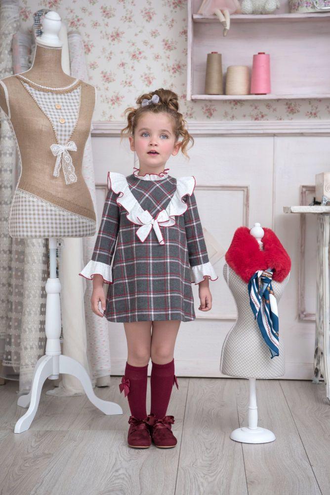 PRE ORDER AW20/21 Girls Miranda Grey Dress 610