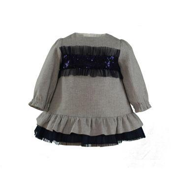 Girls Miranda Navy Dress 146