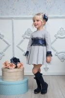 Girls Miranda Navy Dress 246