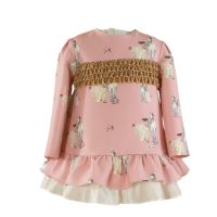 Girls Miranda Pink Dress 272
