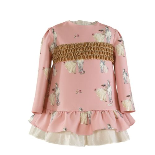PRE ORDER AW20/21 Girls Miranda Pink Dress 272