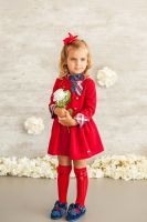 Girls Miranda Red Dress 613