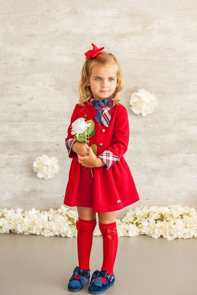 PRE ORDER AW20/21 Girls Miranda Red Dress 613