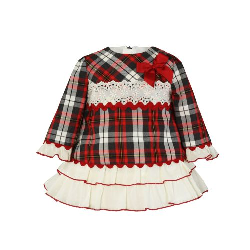 PRE ORDER AW20/21 Girls Miranda Tartan Dress 136