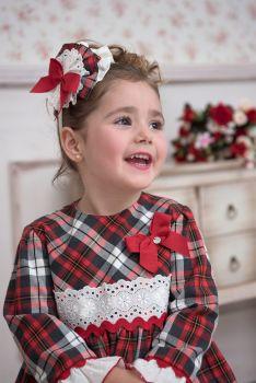 Girls Miranda Tartan Dress 236