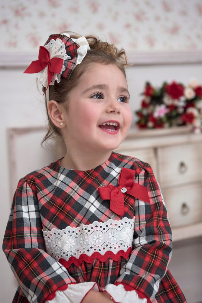 PRE ORDER AW20/21 Girls Miranda Tartan Dress 236