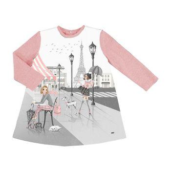 Girls Mayoral Dress 4987 Blush 17