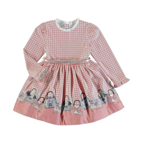 Girls Mayoral Dress 4963 Blush 21