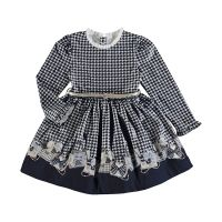 Girls Mayoral Dress 4963 Navy 23