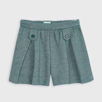Girls Mayoral Shorts 4205 - Duck Green 91