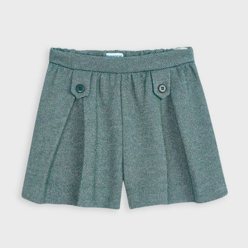 Girls Mayoral Shorts 4205 - Duck Green 91