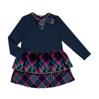 Girls Mayoral Dress 4978 Navy