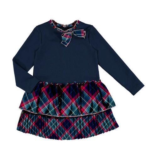 Girls Mayoral Dress 4978 Navy