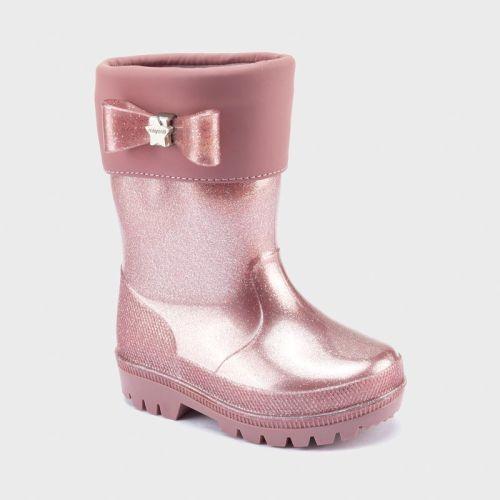 Girls Mayoral Rain Boots 44150 - Pink Glitter
