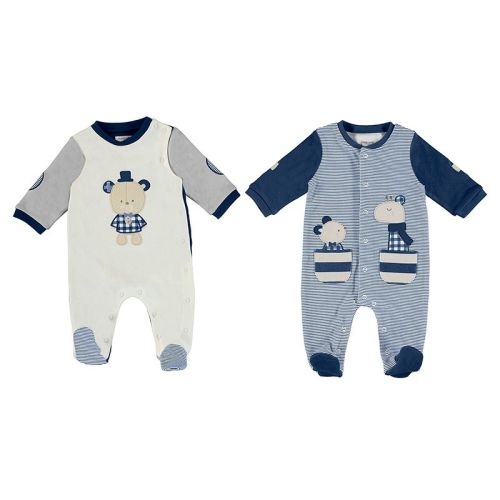 Boys Mayoral Babygrow 2771 - 2 Pack