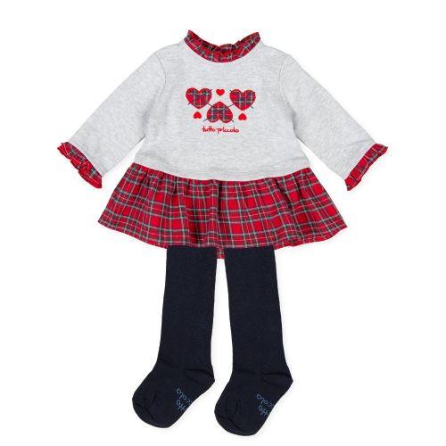 Girls Tutto Piccolo Dress and Tights 9794