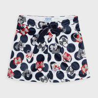Girls Mayoral Shorts 4204 Navy 77