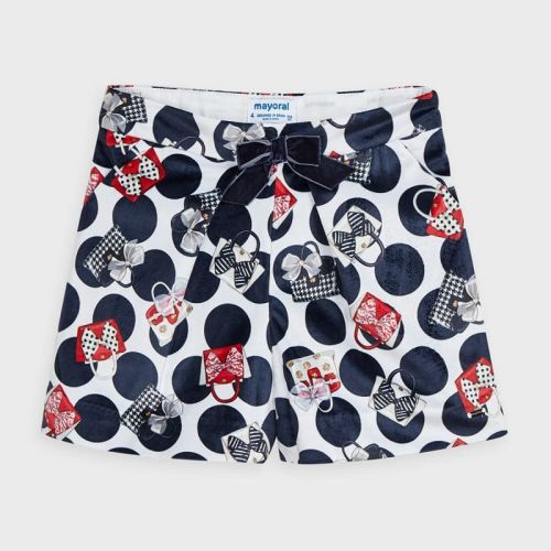 Girls Mayoral Shorts 4204 Navy 77