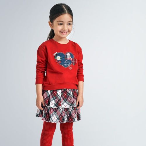 Girls Mayoral Skirt Set 4992