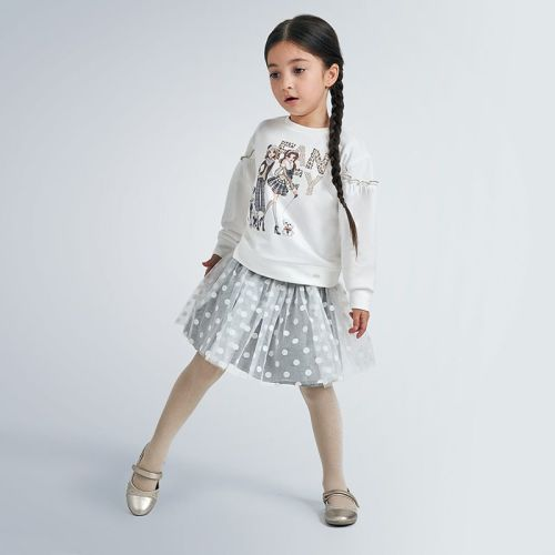 Girls Mayoral Skirt Set 4993