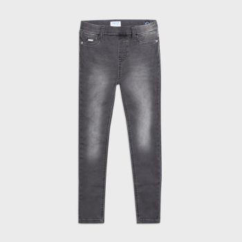 Girls Mayoral Jeans 578 - Grey 68