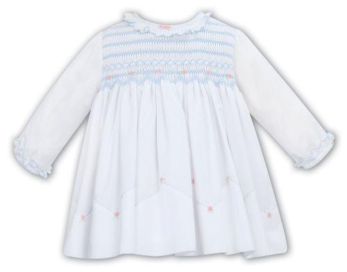 Girls Sarah Louise Dress 012055 - White