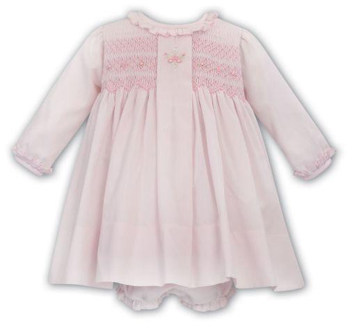 Girls Sarah Louise Dress and Pants 012037 - Pink