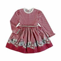 Girls Mayoral Dress 4963 Red 22
