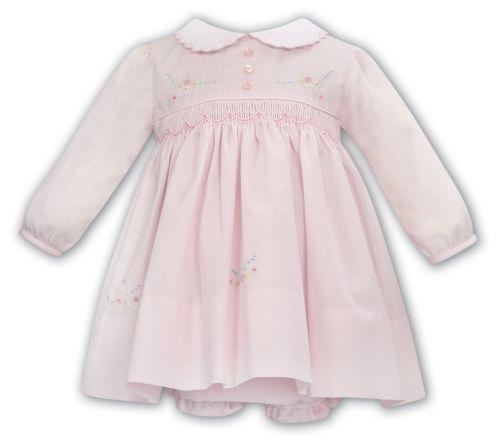 Girls Sarah Louise Dress and Pants 012029 Pink