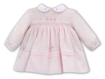 Girls Sarah Louise Dress 012024 - Pink