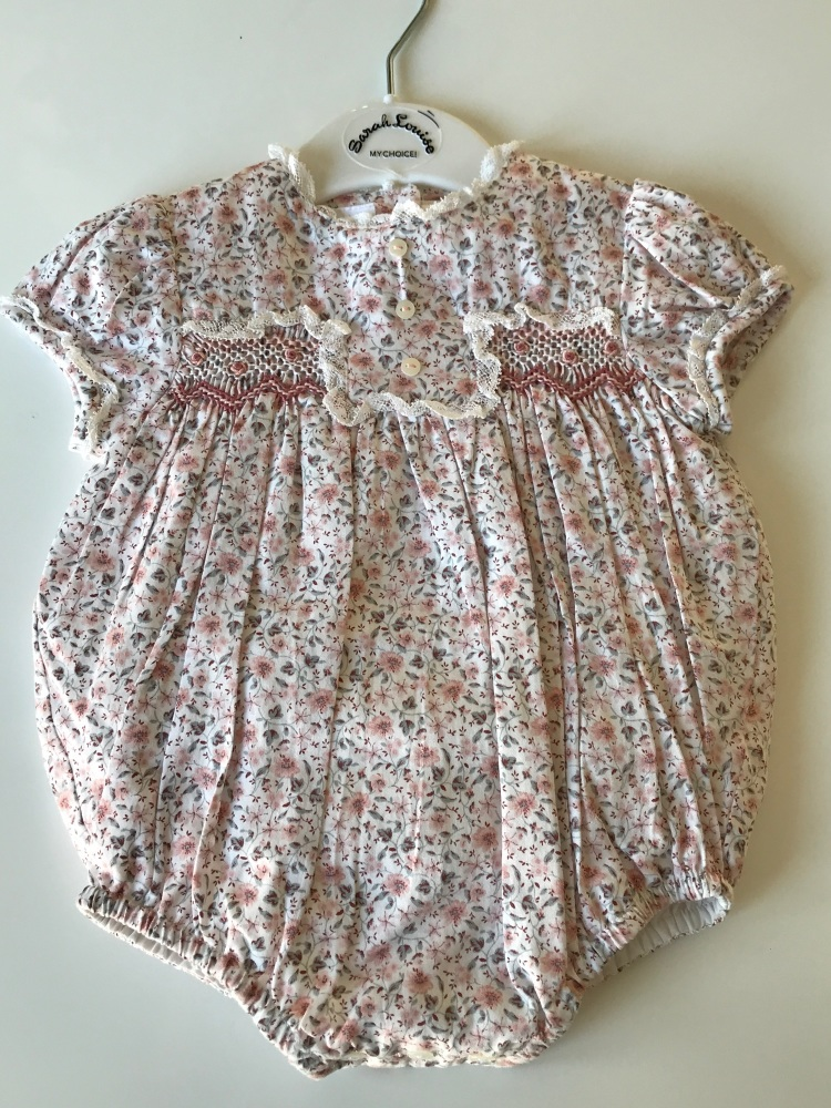 Girls Sarah Louise Romper 012091