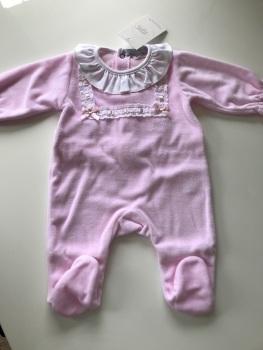 Girls Popys Babygrow 23513 - Pink