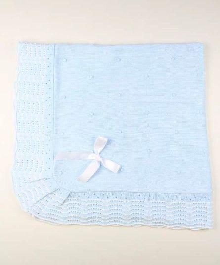 Popys Shawl 22468 - Blue