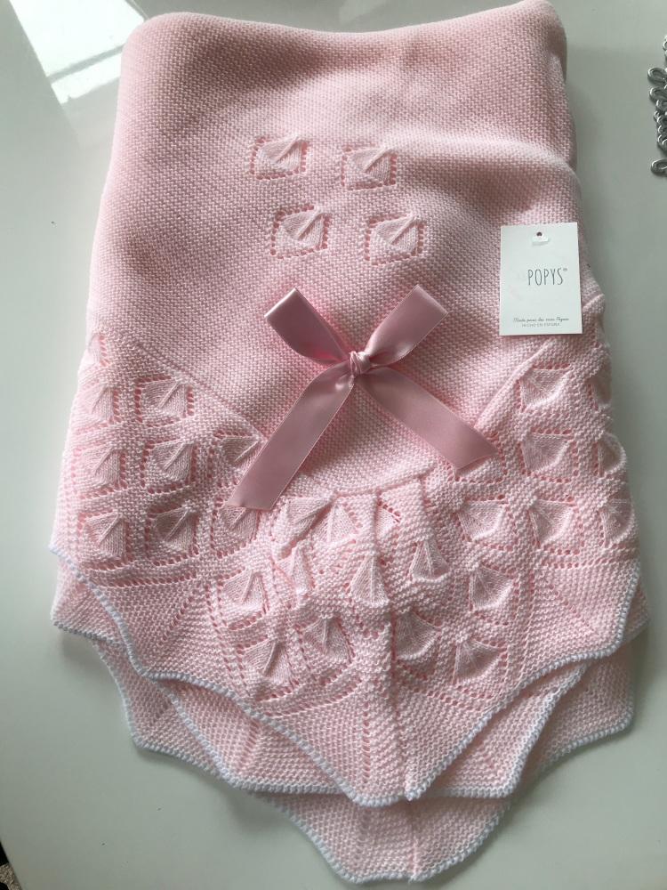 Popys Shawl 22466 - Pink
