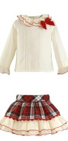 Girls Miranda Tartan Skirt Set 237