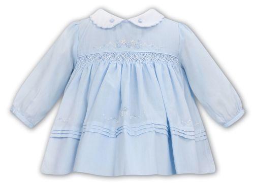 Girls Sarah Louise Dress 012024 - Blue