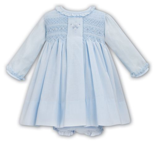 Girls Sarah Louise Dress and Pants 012037 - Blue